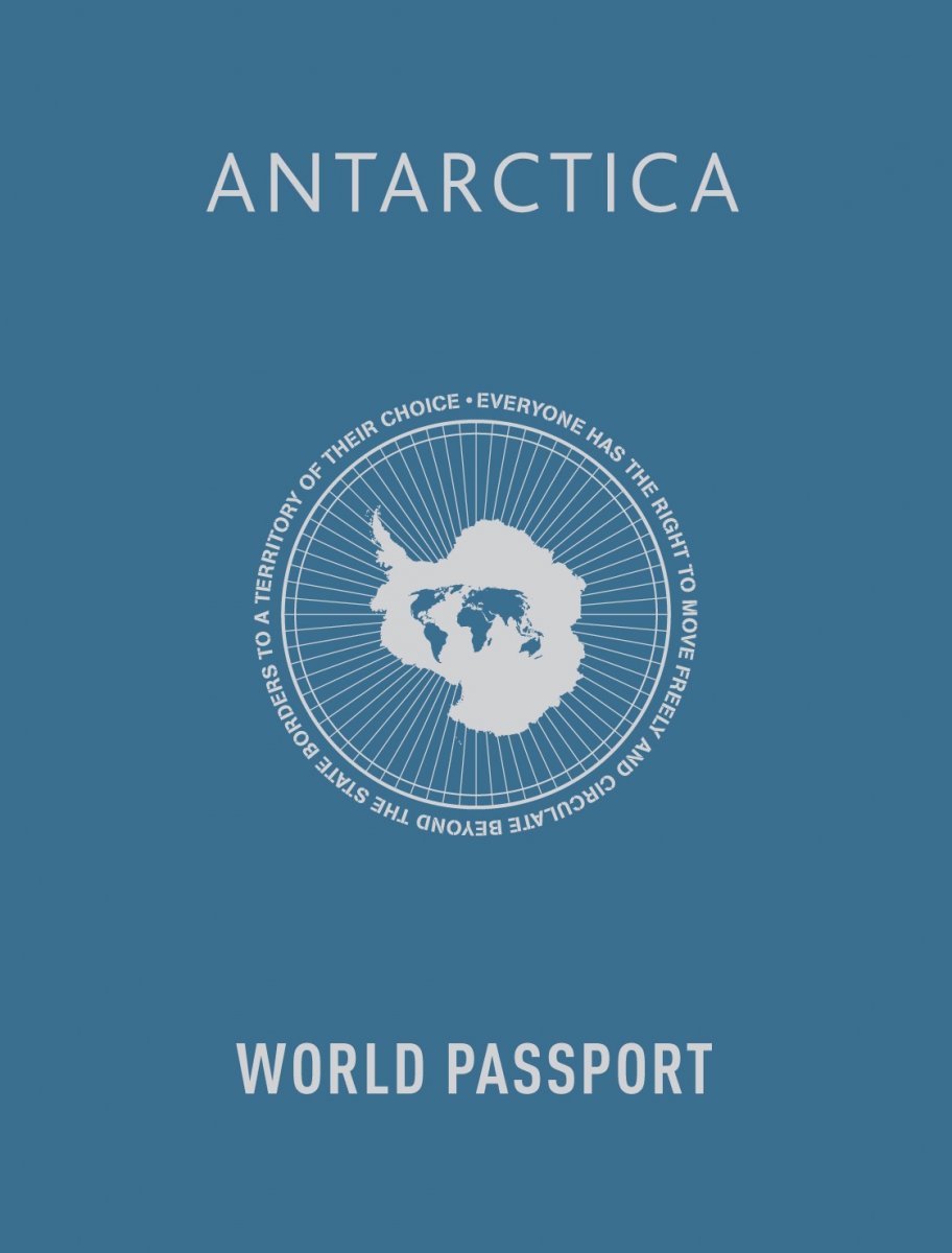 Antarctica World Passport Delivery Bureau