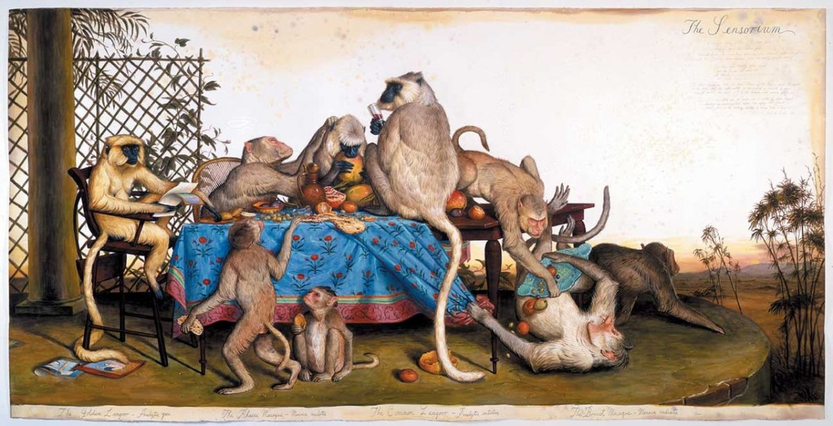 Monkey Banquet, Walter Ford