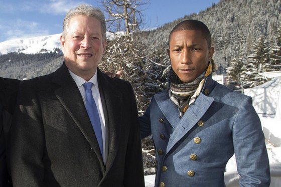 Image of Pharrell Announces 'Live Earth' Concert Series With Al Gore
