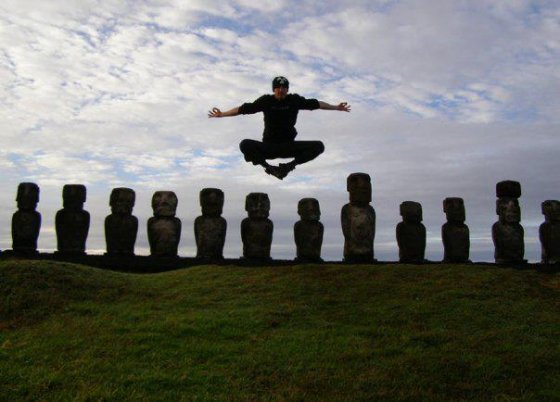 Joshua Fisher, NASA JPL Climate Scientist, on Easter Island