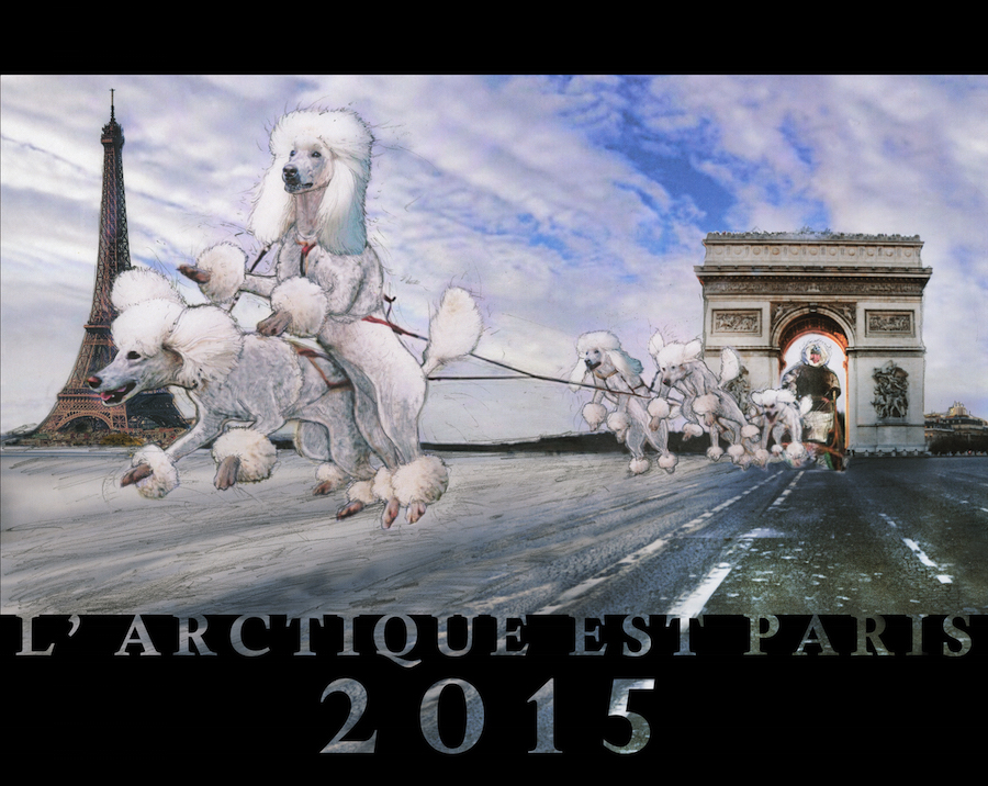 Mel Chin, The Arctic Is Paris, © Mel Chin