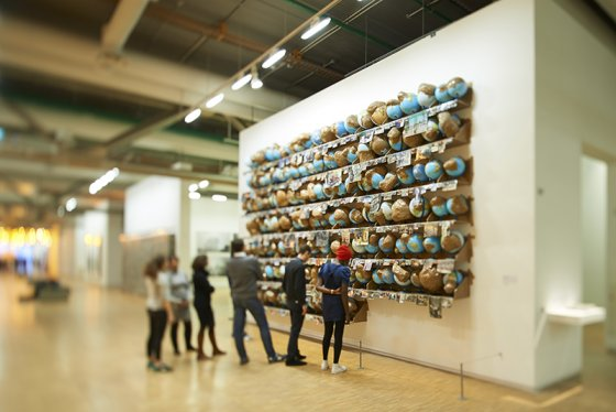 Thomas Hirschhorn Outgrowth, 2005 © Centre Pompidou, 2015 Photo © Manuel Braun, 2015 © Adagp, Paris 2015