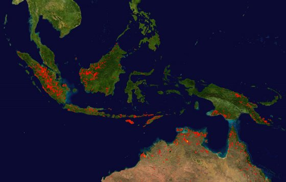 Indonesia-fires-nasa
