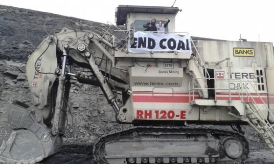 tree news Coal-protest