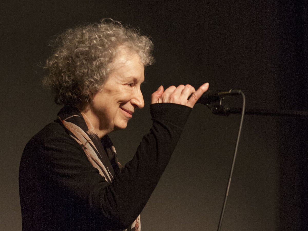 Margaret Atwood at Brattle Theatre, 2014
