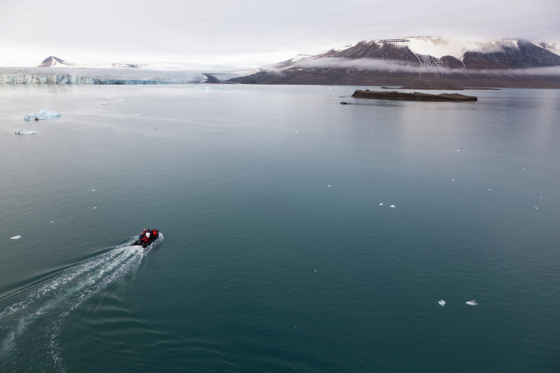 Alex Hartley, Discovery of an Island in The Arctic, 2004