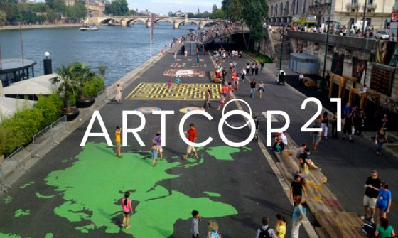 ArtCOP21 Festival on the Banks of the Seine