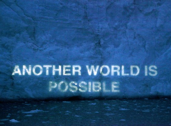 Another world is possible, David Buckland
